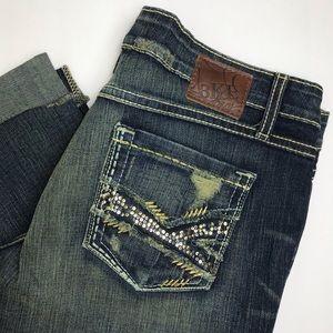BKE Denim Sabrina Crop Jeans - size 31